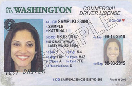 wa state licensing (dol) official site: driver license designs