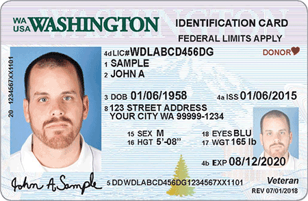WA State Licensing (DOL) Official Site: ID card designs