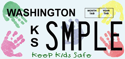Keep Kids Safe plate