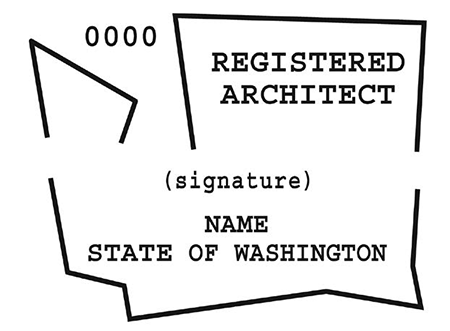 Architect seal
