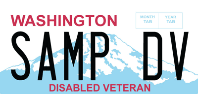 WA State Licensing (DOL) Official Site: Disabled American Veteran