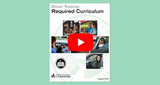 Required Curriculum for WA State Driver Training Schools