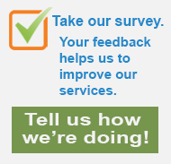 Take a survey: Tell us how we're doing!