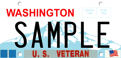 Veteran/military service award emblem sample